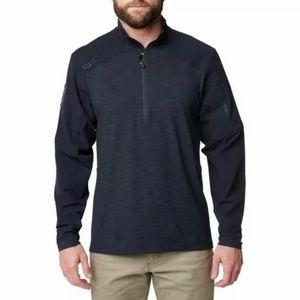5.11 Tactical Men's Rapid Half Zip Sweatshirt Sz M